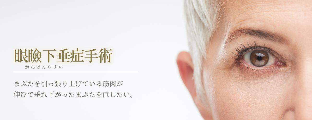 眼瞼下垂症手術